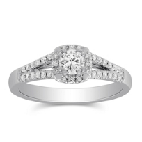 14K_White_Gold_Cushion_Halo_Split_Shank_Round_Diamond_Ring,_0.66cttw