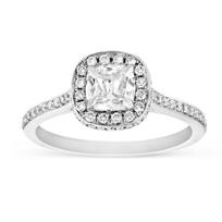 14K_White_Gold_Cushion_&_Round_Diamond_Halo_Engagement_Ring