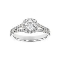 18K_White_Gold_Kalahari_Dream_Diamond_Halo_Ring_with_Split_Shank,_0.52cttw