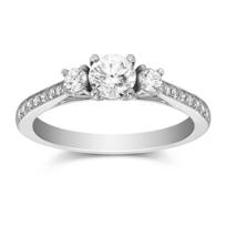14K_White_Gold_Milgrain_Three_Stone_Round_Diamond_Ring,_1.08cttw
