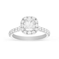 Henri_Daussi_18K_White_Gold_Cushion_Diamond_Ring_with_Round_Diamond_Halo,_1.65cttw