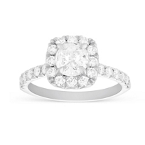 Henri_Daussi_18K_White_Gold_Cushion_Diamond_Ring_with_Round_Diamond_Halo,_1.68cttw
