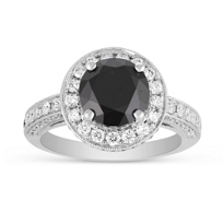 18K_White_Gold_Round_Black_Diamond_Engagement_Ring_with_Diamond_Halo_and_Shank