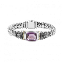 lagos_sterling_silver_&_18k_yellow_gold_caviar_color_amethyst_wide_bracelet