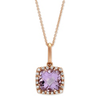 14K_Rose_Gold_Amethyst_and_Diamond_Pendant