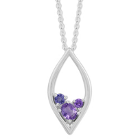 Sterling_Silver_Amethyst_and_Iolite_Marquise_Shaped_Pendant