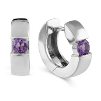 Sterling_Silver_Amethyst_Hoop_Earrings
