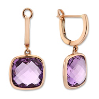 14K_Rose_Gold_Checkerboard_Amethyst_Drop_Earrings