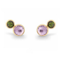 Marco_Bicego_18K_Yellow_Gold_Jaipur_Amethyst_&_Green_Tourmaline_Earrings
