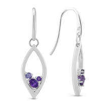 Sterling_Silver_Amethyst_&_Iolite_Drop_Earrings
