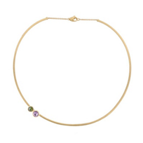 Marco_Bicego_18K_Yellow_Gold_Jaipur_Round_Amethyst_&_Green_Tourmaline_Collar_Necklace