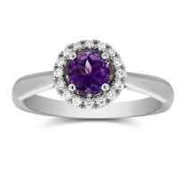 14K_White_Gold_Amethyst_and_Diamond_Halo_Ring