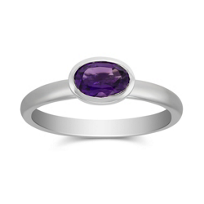 14K_White_Gold_Bezel_Set_Oval_Amethyst_Ring