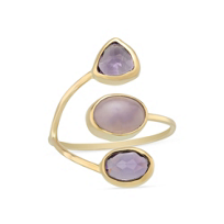 Melissa_Joy_Manning_14K_Yellow_Gold_Amethyst_&_Lavender_Chalcedony_Ring
