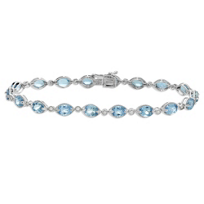 14K_White_Gold_Oval_Aquamarine_and_Diamond_Bracelet