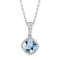 14K_White_Gold_Checkerboard_Cushion_Aquamarine_Bezel_Set_Pendant,_6mm