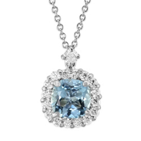 18K_White_Gold_Cushion_Aquamarine_and_Diamond_Pendant