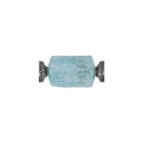 clara_williams_limited_edition_black_tone_rough_aquamarine_barrel_centerpiece