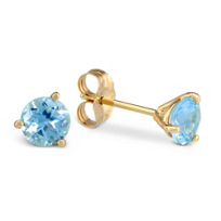 14K_Yellow_Gold_Round_Faceted_Aquamarine_Earrings,_5mm