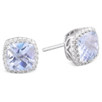 14k_Aqua_and_Diamond_Stud_Earrings