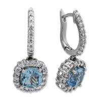 18K_White_Gold_Cushion_Aquamarine_and_Round_Diamond_Dangle_Earrings