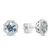 14K_White_Gold_Cushion_Aquamarine_Earrings_with_Double_Milgrain