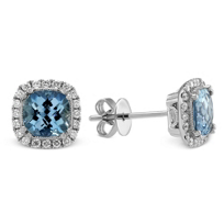 14K_White_Gold_Cushion_Aquamarine_and_Round_Diamond_Earrings