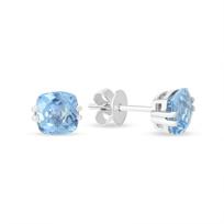 14K_White_Gold_Checkerboard_Cushion_Aquamarine_Earrings