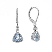 14k_white_gold_checkerboard_trillion_aquamarine_&_diamond_milgrain_bezel_drop_earrings