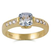 14K_White_Gold_Aquamarine_and_Diamond_Ring