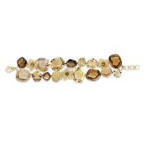18K_Yellow_Gold_Citrine,_Diamond_and_Rutilated_Quartz_Bracelet
