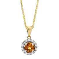 14K_Yellow_and_White_Gold_Round_Citrine_and_Round_Diamond_Halo_Pendant