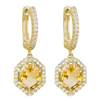 14K_Yellow_Gold_Fancy_Stepcut_Citrine_&_Diamond_Dangle_Earrings,_0.36cttw
