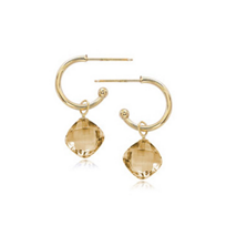 14k_yellow_gold_checkerboard_square_citrine_drop_hoop_earrings