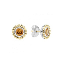 Lagos_Sterling_Silver_&_18K_Yellow_Gold_Citrine_Earrings
