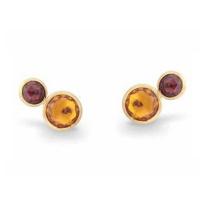 Marco_Bicego_18K_Yellow_Gold_Jaipur_Citrine_&_Pink_Tourmaline_Earrings