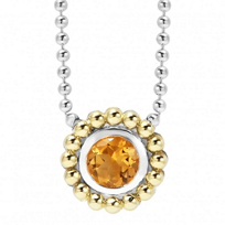 Lagos_Sterling_Silver_&_18K_Yellow_Gold_Signature_Color_Citrine_Necklace