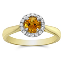 14K_Yellow_Gold_Round_Citrine_and_Diamond_Halo_Ring
