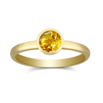 14K_Yellow_Gold_Citrine_Bezel_Set_Stack_Ring
