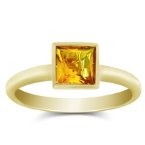 14K_Yellow_Gold_Princess_Cut_Citrine_Stack_Ring
