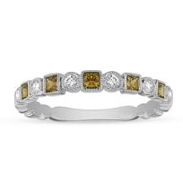 14K_White_Gold_Citrine_&_Diamond_Geometric_Ring