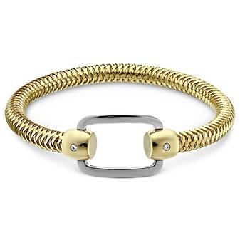 Roberto Coin 18K Yellow & White Gold Rectangle Primavera Bracelet