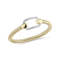 Roberto_Coin_18K_Yellow_&_White_Gold_Diamond_Primavera_Open_Link_Bracelet