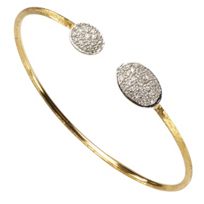 Marco_Bicego_18K_Yellow_&_White_Gold_Siviglia_Diamond_Bangle,_0.36cttw