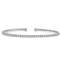 18K_White_Gold_Diamond_Cuff_Bracelet