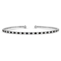 18K_White_Gold_Black_and_White_Diamond_Cuff_Bracelet