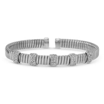 18K_White_Gold_Diamond_Station_Cuff_Bracelet