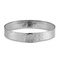 Phillips_House_14K_White_Gold_Round_Diamond_Infinity_Love_Always_Hammered_Wide_Bangle