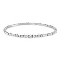 18K_White_Gold_Diamond_Bangle_Bracelet,_1.33CTTW