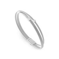 Marco_Bicego_18K_White_Gold_&_Diamond_Masai_Two_Strand_Bracelet